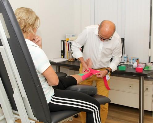 medical taping medisch training centrum statenkwartier Den Haag