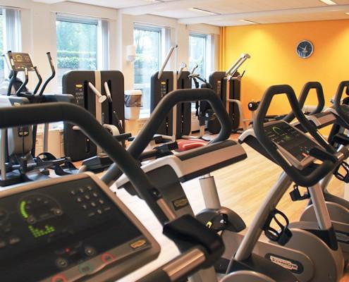 De trainingsruimte van het medisch training centrum statenkwartier in Den Haag