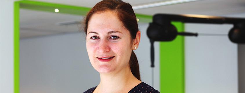Renske van den Berg, fysiotherapeut medisch traing centrum statenkwartier Den Haag